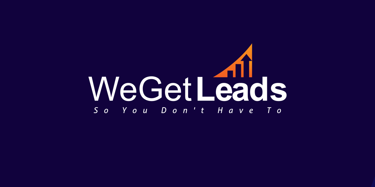 We Get Leads